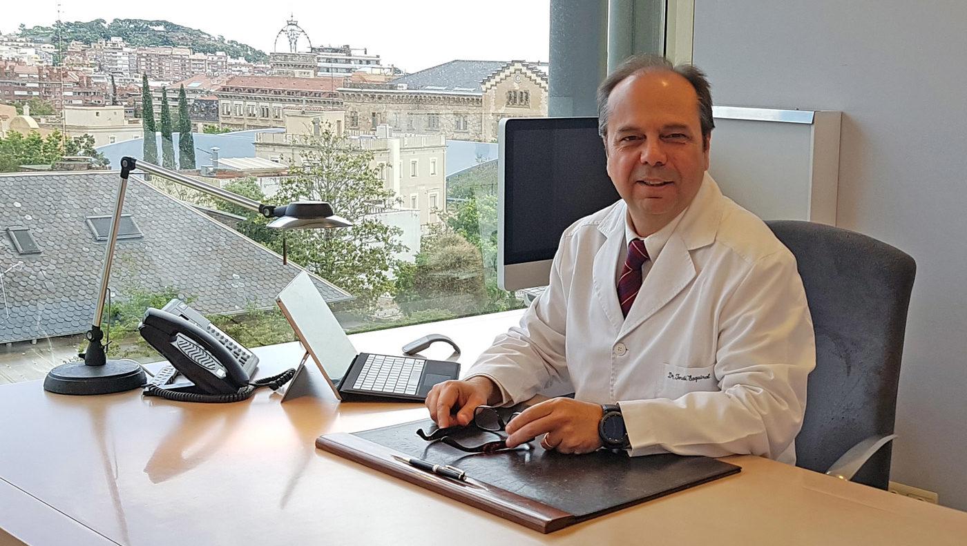 Jordi Esquirol, en su despacho