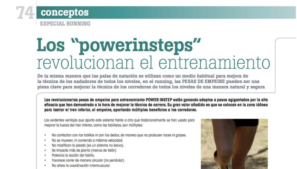 El reportaje sobre Power Instep en Tradesport