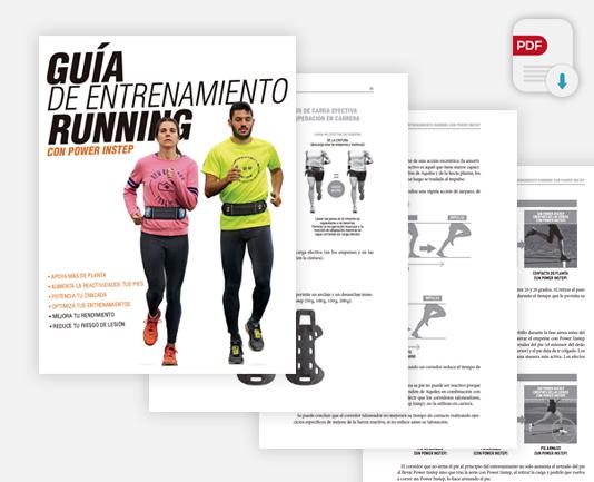 La guía de entrenamiento running viene incluida en el pack triatleta