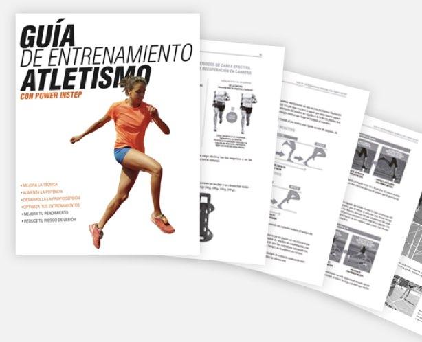 El Manual de entrenamiento de atletismo va incluido dentro del PACK MARATÓN