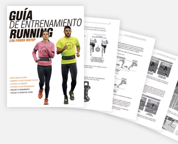La guía de entrenamiento running va incluida en el PACK RUNNER
