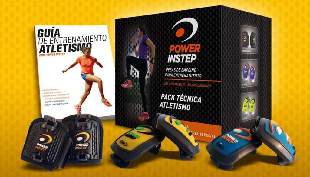 El PACK TÉCNICA ATLETISMO, el pack recomendado para ejercicios de técnica, fuerza y acondicionamiento