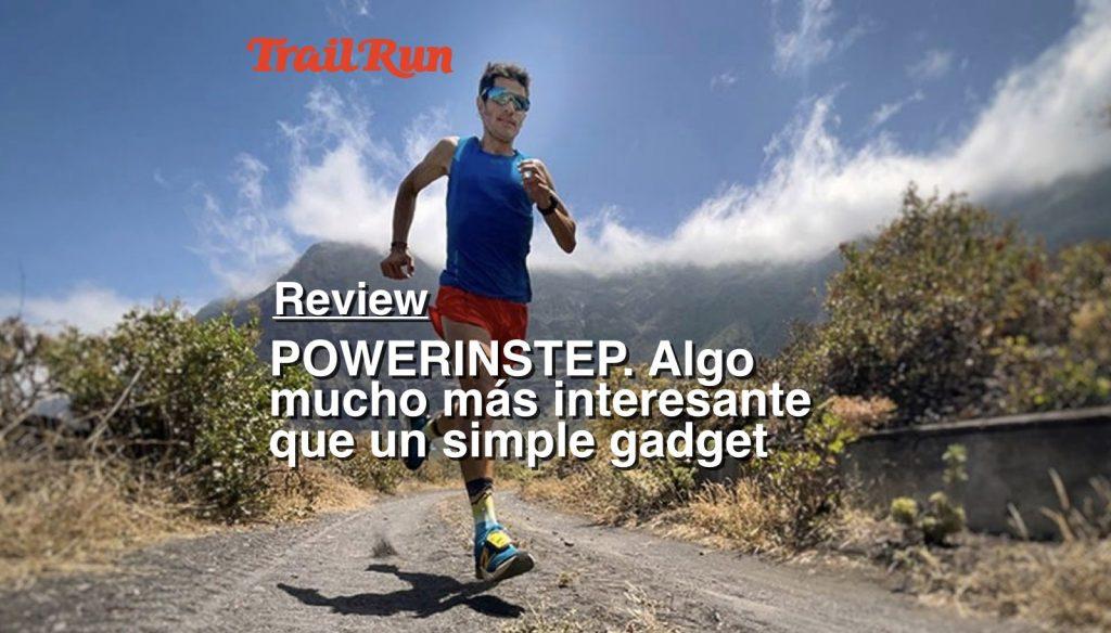 """La revista TRAIL RUN ha publicado un artículo """"review"""" sobre pesas ligeras de empeine"""
