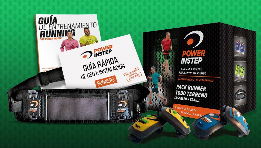 El PACK RUNNER TODO TERRENO, el producto recomendado para aquellos que corren tanto por asfalto como por montaña
